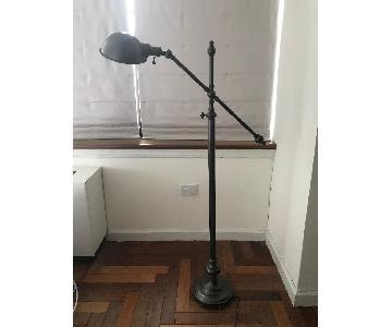 Restoration Hardware Classic Bronze Floor Lamp