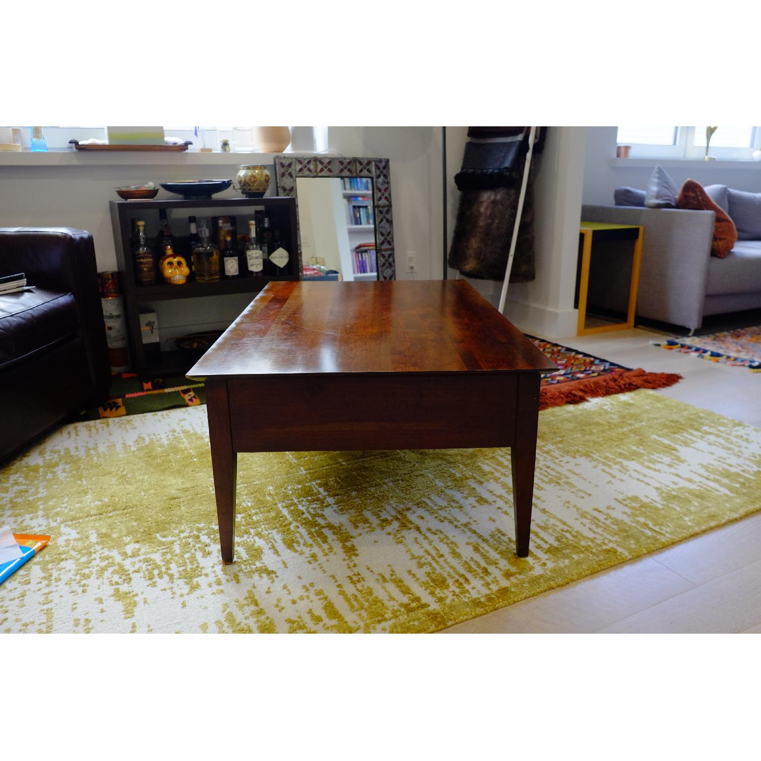 Ethan Allen Arts & Crafts Coffee Table-0