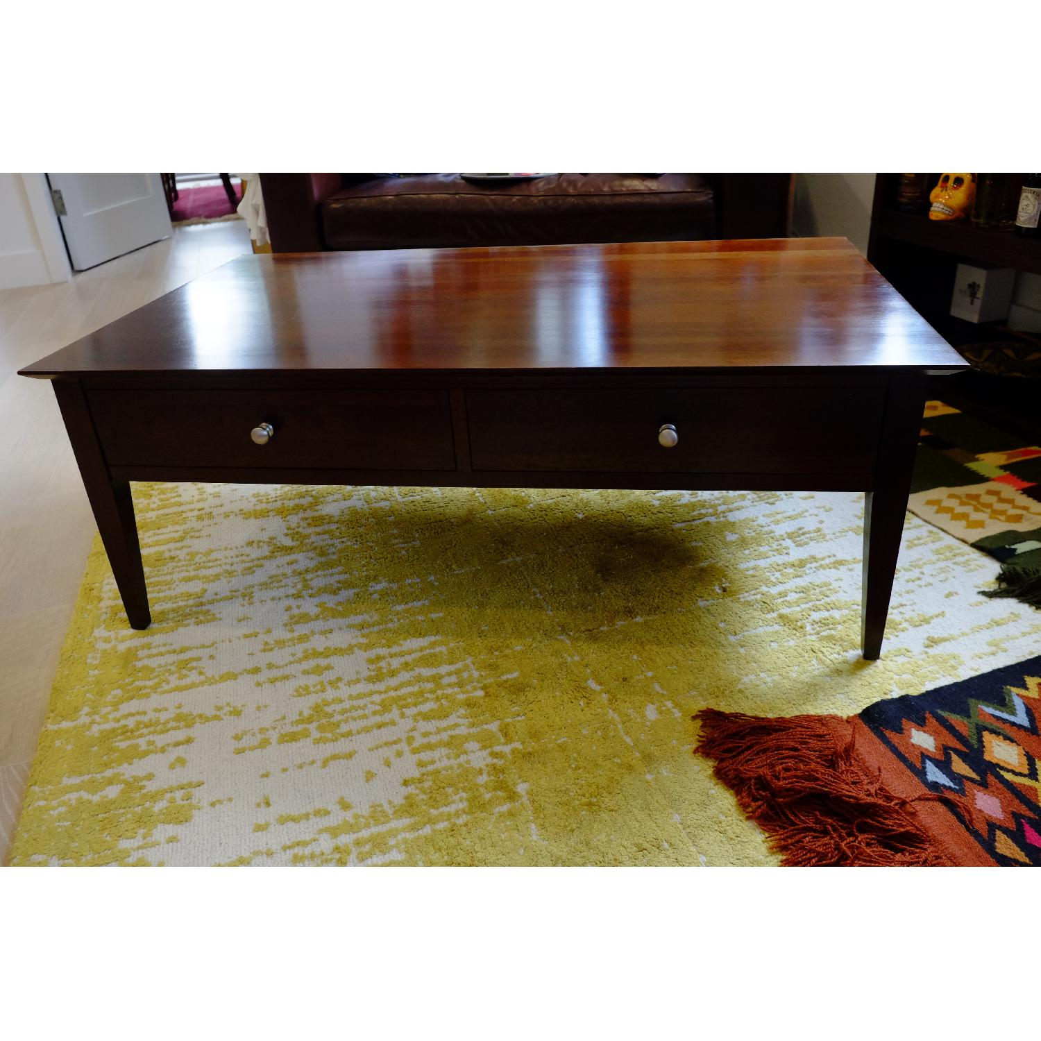 Ethan Allen Arts & Crafts Coffee Table-1