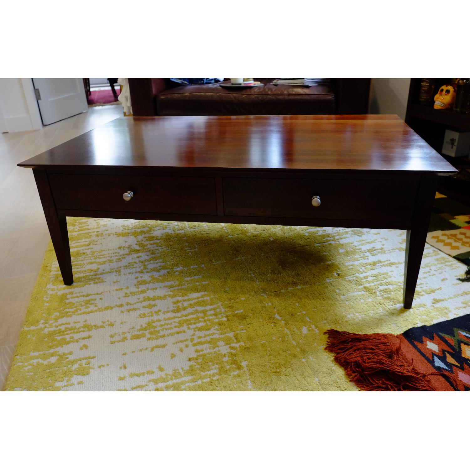 Ethan Allen Arts & Crafts Coffee Table-2