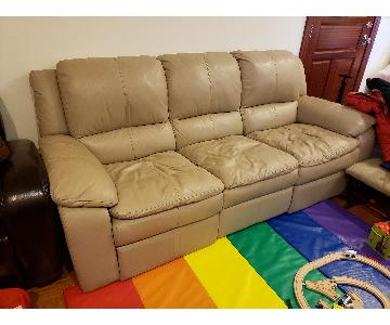 Jennifer Convertibles 3 Seat Recliner Sofa