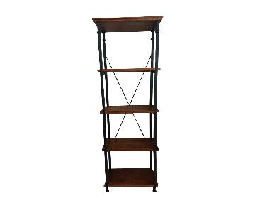 Home Depot Rustic Bookcase