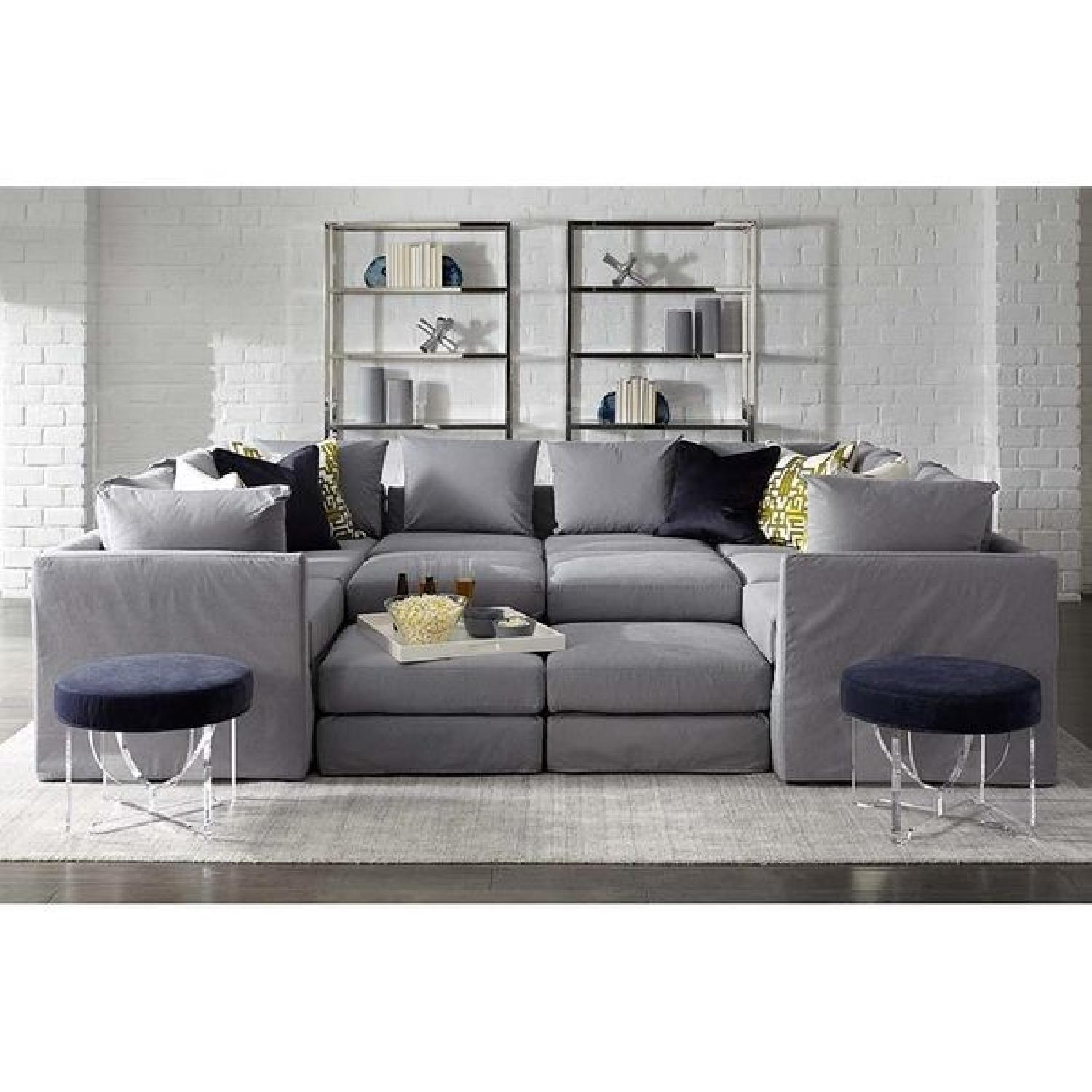 Mitchell Gold + Bob Williams Dresher Rug in Silver-1
