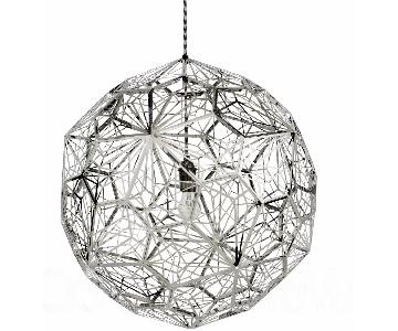 Tom Dixon Etch Pendant in Steel