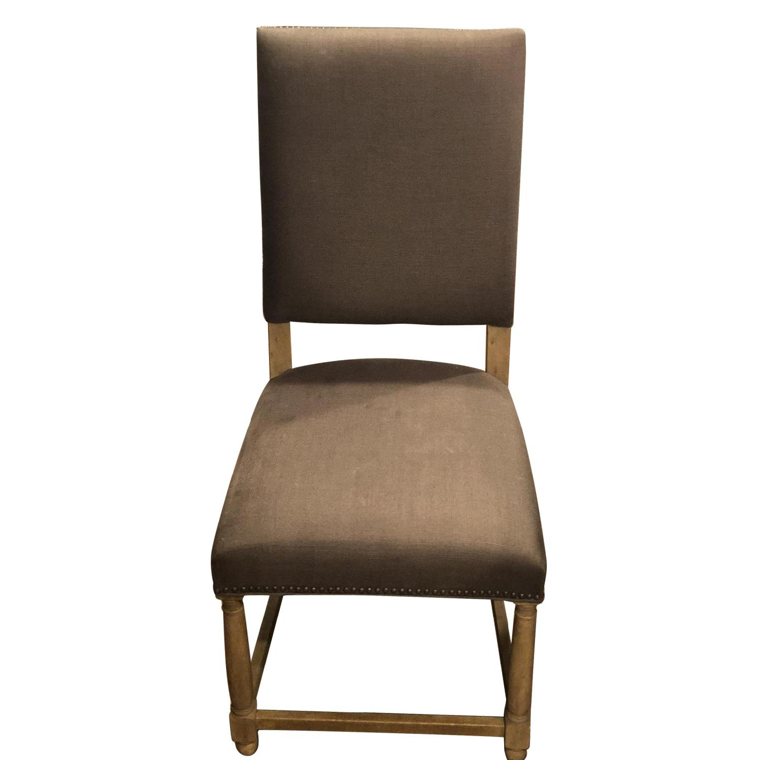 Restoration Hardware Empire Parsons Fabric Chair
