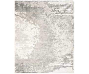 Safavieh Tibet Silver/Ivory Silk Area Rug