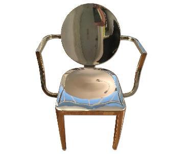 Modani Ivy Metallic Chair