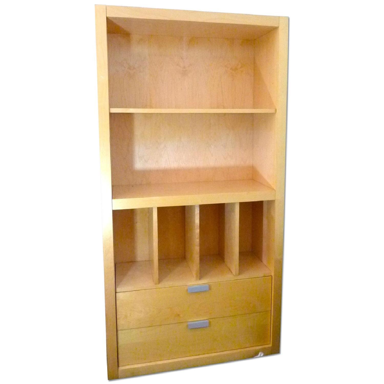 Room & Board Maple Bookcase TV Cabinet
