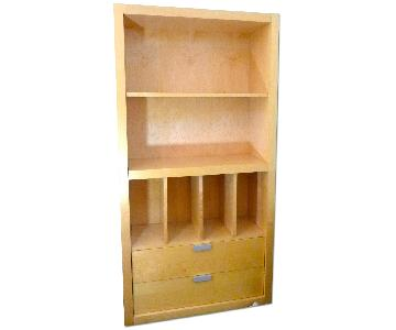 Room & Board Maple Bookcase TV Cabinet