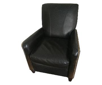 Bradington Young Leather Recliner w/ Nailheads