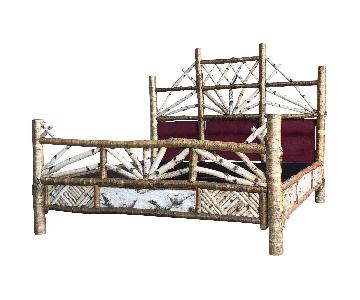 Peter Winter Adirondack Birch Bespoke King Bed