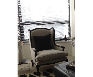 Restoration Hardware Lorraine Wingback Chair