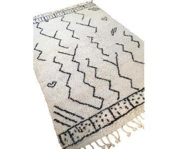 Beni Ourain Moroccan Wool Area Rug