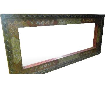Pier 1 Decorative Wood Framed Floor/Wall Mirror