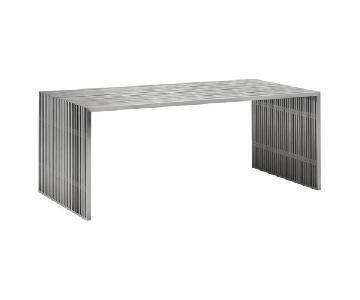 Manhattan Home Design Steel Dining Table