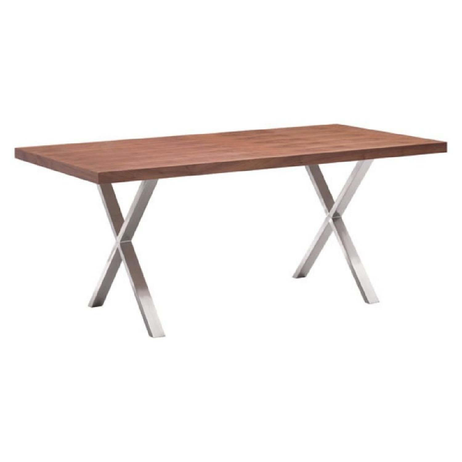 Manhattan Home Design Walnut Dining Table