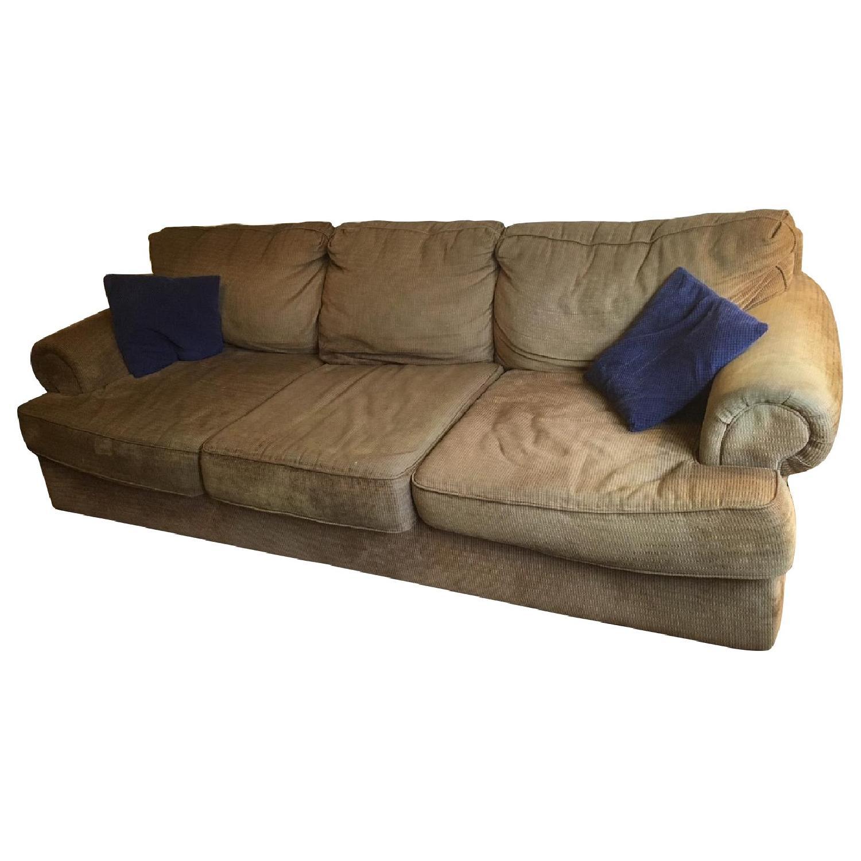 Ashley Beige Fabric Sofa ...