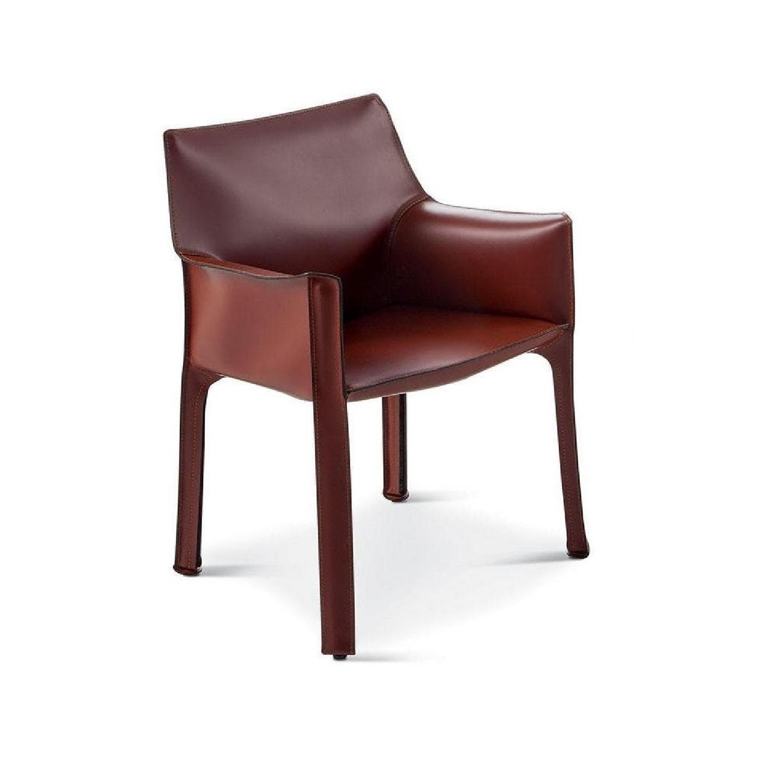 Cassina Mario Bellini 413 Cab Chair   AptDeco