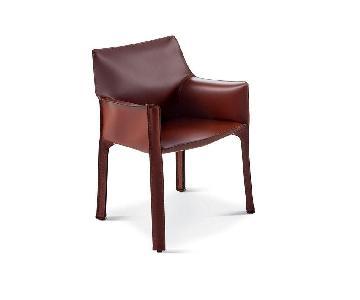 Cassina Mario Bellini 413 Cab Chair