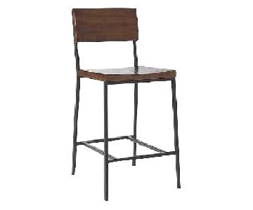 West Elm Rustic Counter Stool