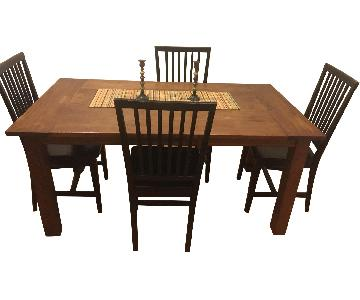 Crate & Barrel 5-Piece Dining Set