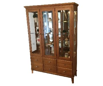 Ethan Allen Element China Cabinet