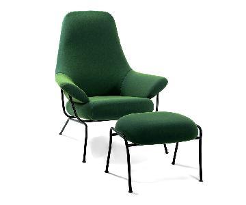 Her Hai Accent Chair & Ottoman