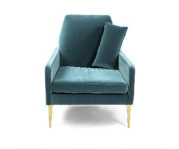 West Elm Smythe Velvet Chair