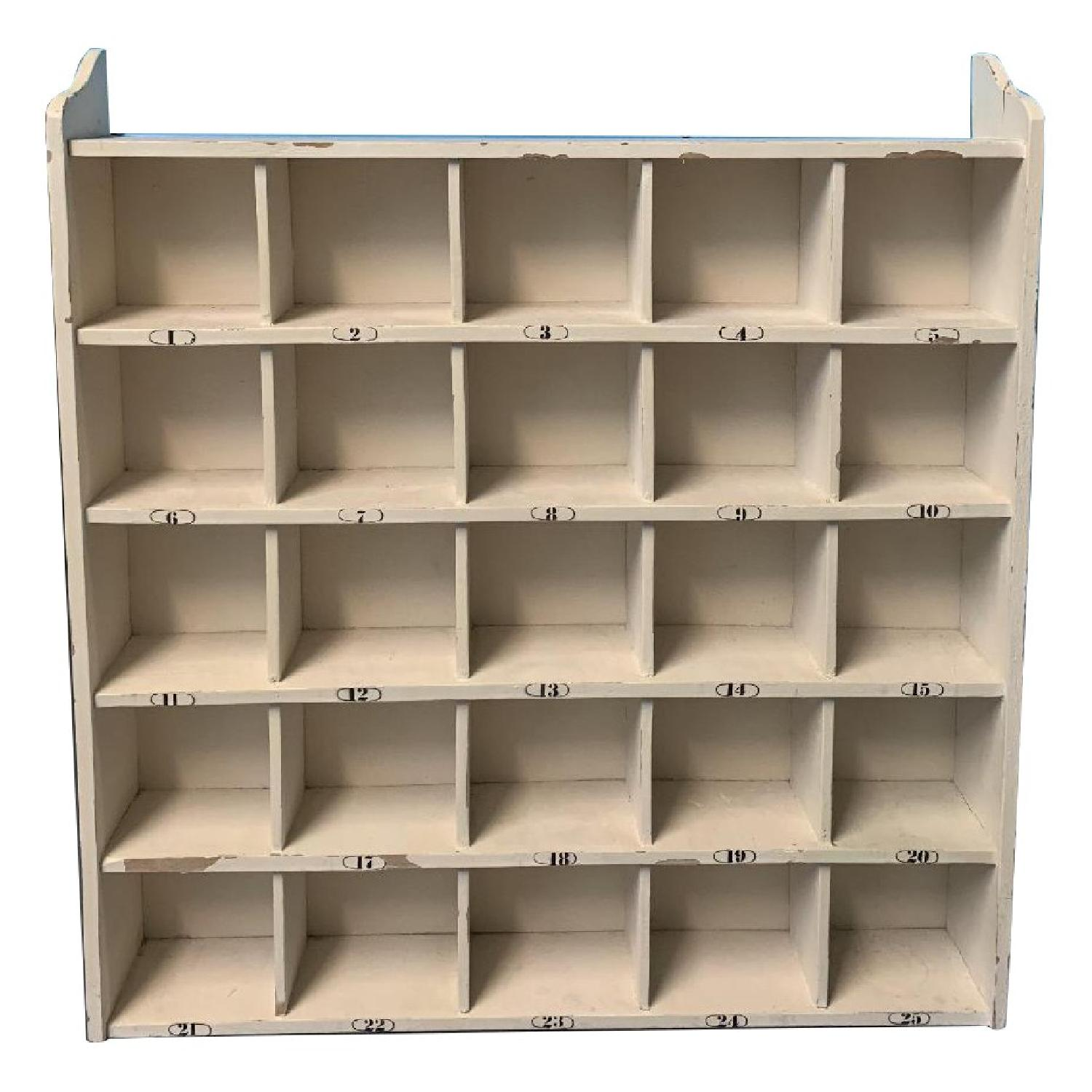 Pottery Barn Cubby Storage - image-0