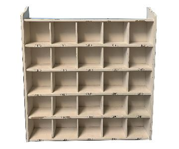 Pottery Barn Cubby Storage