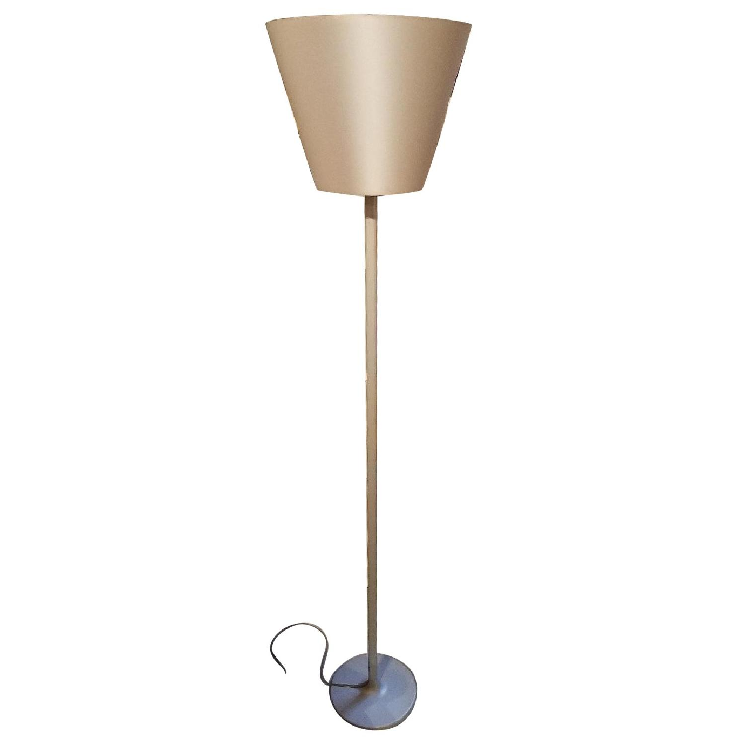 Artemide Melampo Dimmable Floor Lamps in Silver