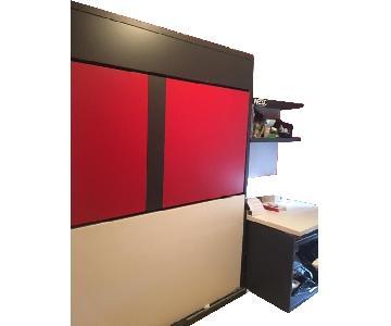 Resource Furniture Twin Loft Bed w/ Desk