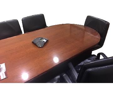 Executive Conference Table w/ 6 Executive Chairs
