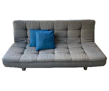 Lazzoni Grey Sleeper Sofa