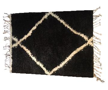 ABC Carpet and Home Obeetee Wool Shag Rug