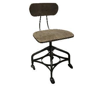 Restoration Hardware 1940s Vintage Toledo Desk Chair