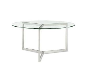 Room & Board Glass Dining Table