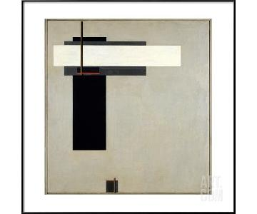 El Lissitzky Framed Composition Proun GBA 4