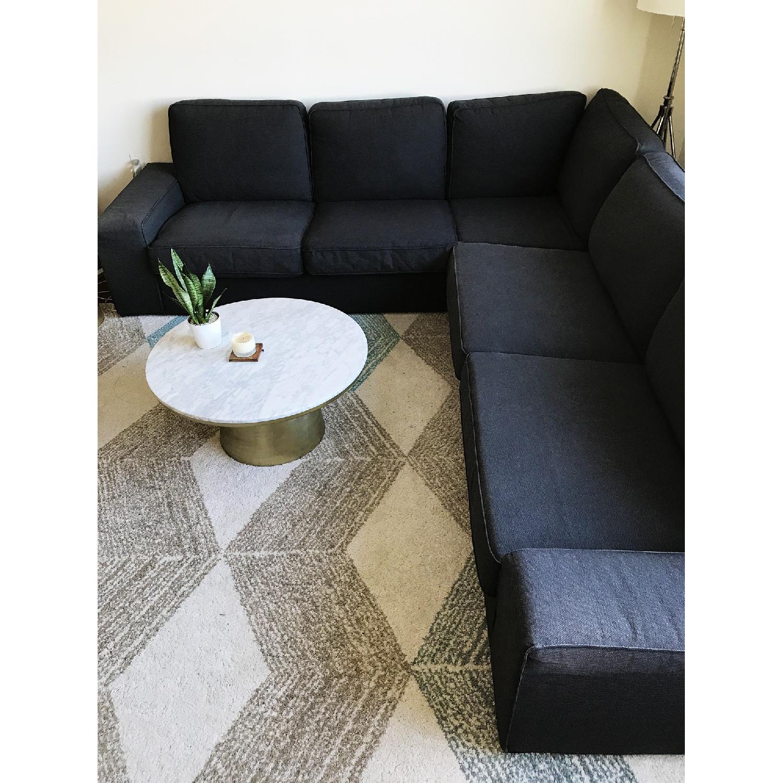 ... Ikea Kivik 5 Seat Corner Sectional Sofa 1
