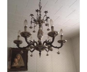 Antique Ceramic Chandelier