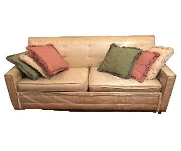 Castro Convertibles Sleeper Sofa + Chair