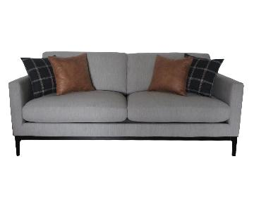 Light Grey Modern Sofa
