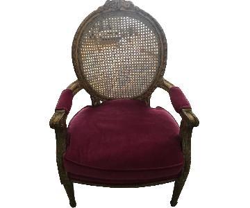 Rachel Ashwell Shabby Chic Louis V Chair