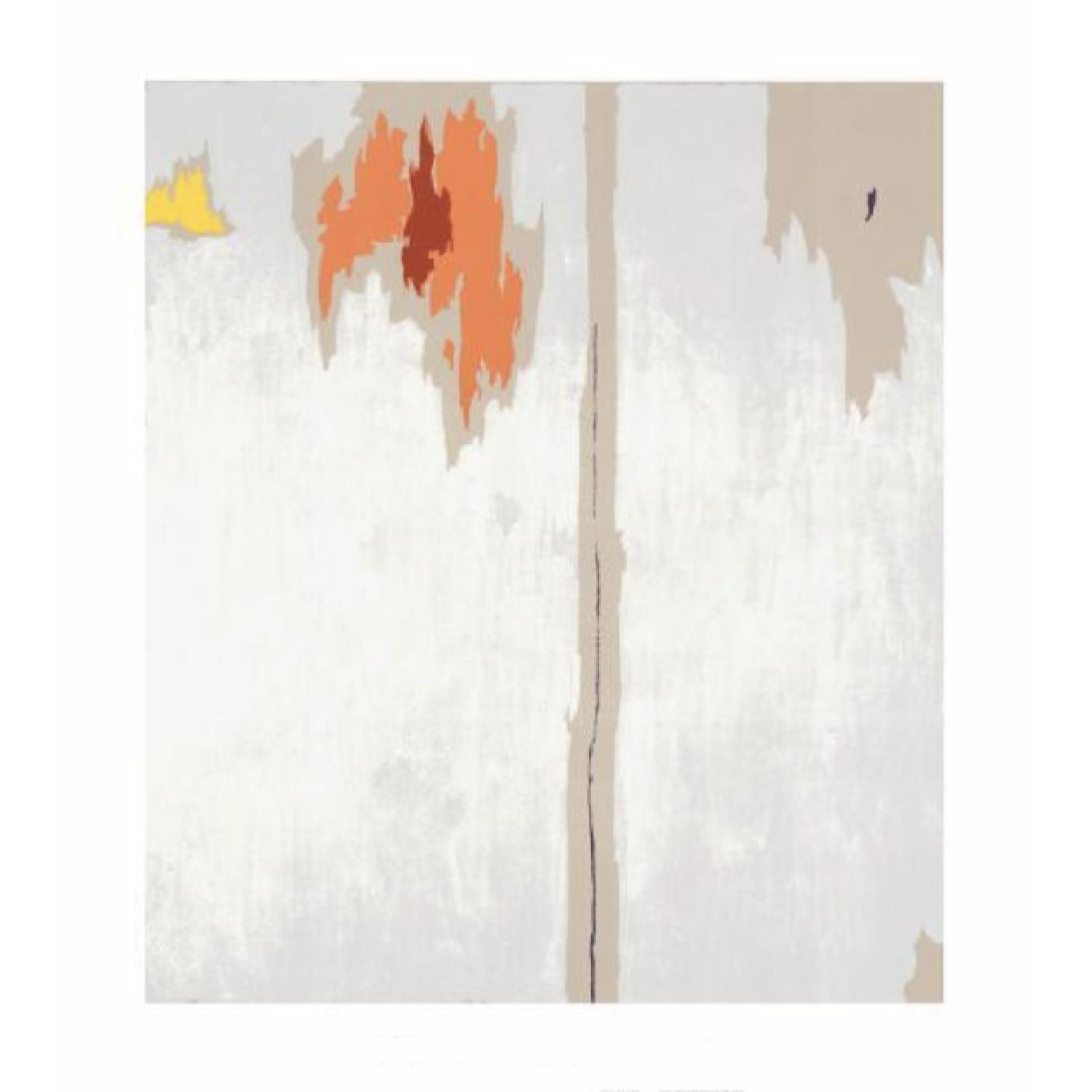 Clyfford Still Untitled Framed Wall Art