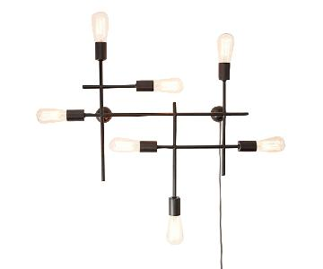 West Elm Industrial Grid Wall Sconce