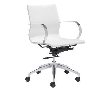 Manhattan Home Design Low Back Office Chair