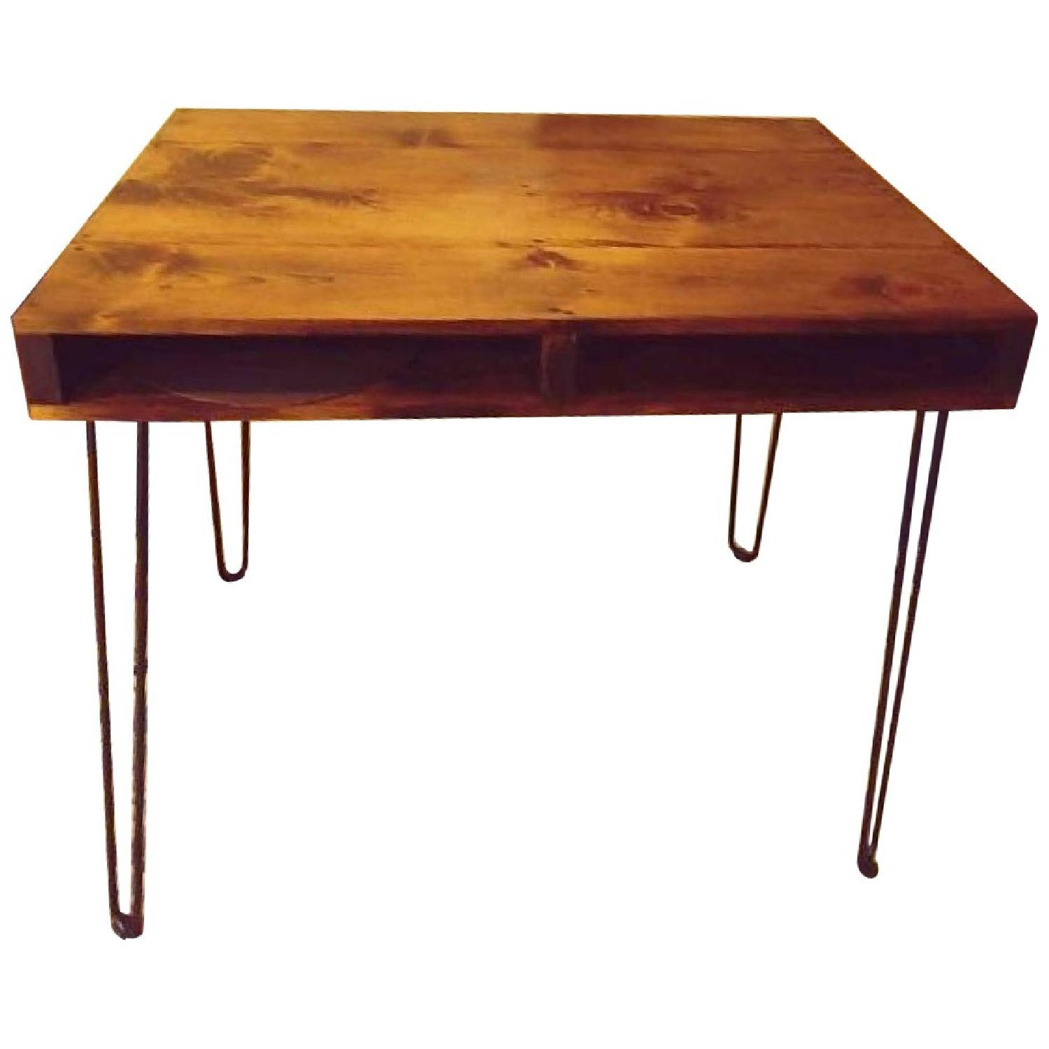 Reclaimed Wood Rustic Dining/Bar Table