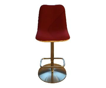 Kristalia Boum Swivel Bar Stools
