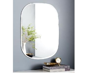 West Elm Frameless Rectangle Mirror