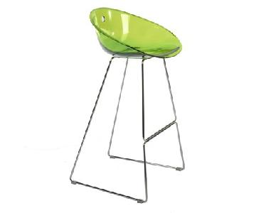 Pedrali Gliss Transparent Bar Stools